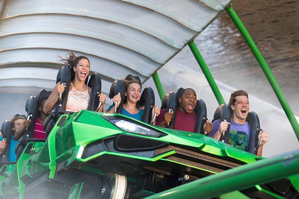 Ride the newly opened Incredible Hulk Coaster at Islands of Adventure for more thrills than ever