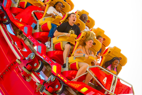 Hollywood Rip Ride Rockit is a thrill-coaster at Universal Orlando