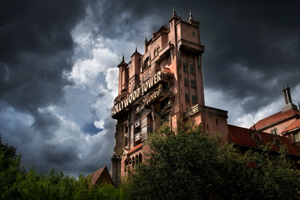 Ride a classic as you drop through the Twilight Zone Tower of Terror