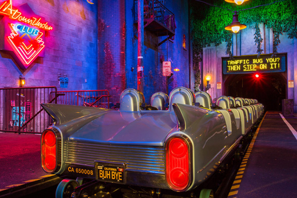 Rock and Roller Coaster is Hollywood Studio's more thrilling ride