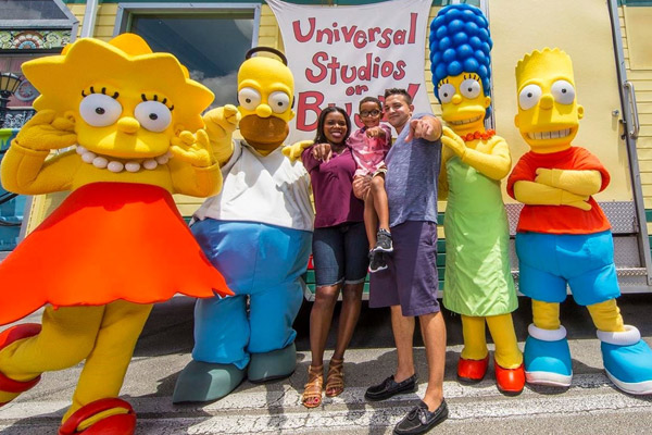The Simpsons at Universal Orlando