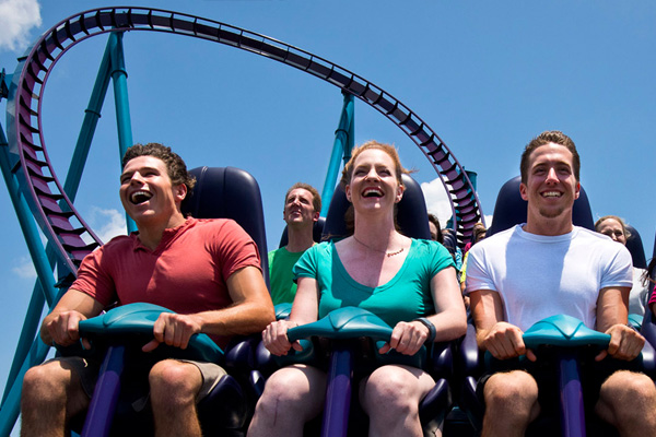 The first hyper coaster in Orlando, Mako is open at SeaWorld Orlando