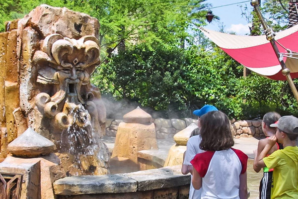 The Mystic Fountain at Universal Orlando