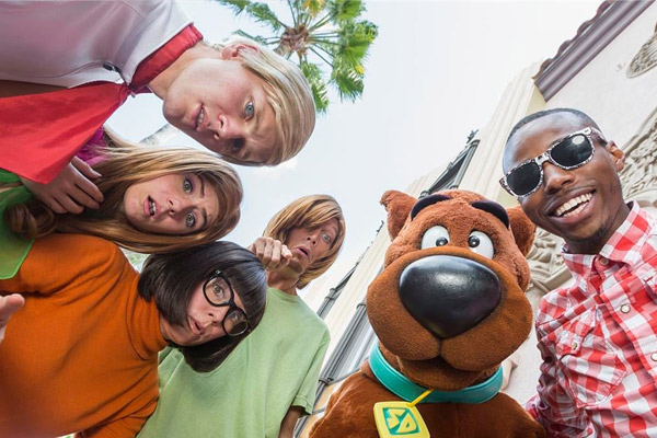 Scooby-Doo Gang at Universal Orlando