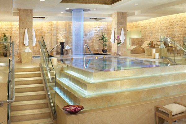 Roman Baths at Caesars Palace Spa
