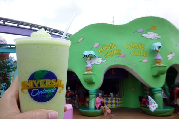 Try Moose Juice and Goose Juice at Islands of Adventure