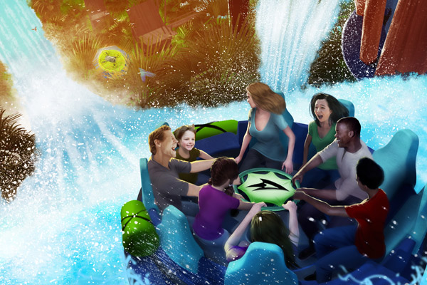 Infinity Falls Coming to SeaWorld Orlando