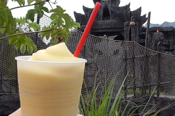 Drink like Kong with a refreshing Banana Icee at The Mess Tent