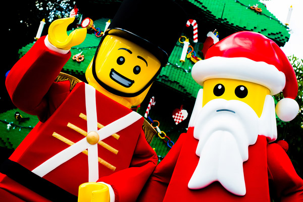 Join LEGO Santa during LEGOLAND Florida's Christmas Bricktacular!
