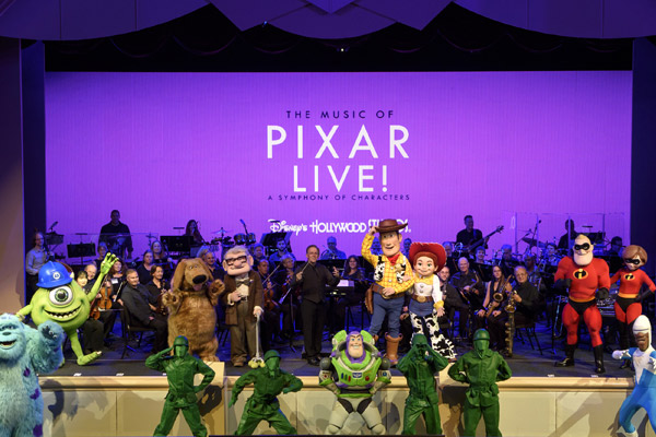The Music of Pixar Live! at Disney's Hollywood Studious