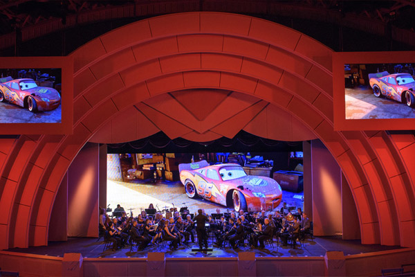 "Songs from ""Cars"" are showcased at The Music of Pixar Live!"