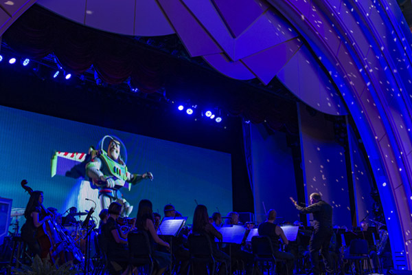 "The Music of Pixar Live! features songs from ""Toy Story"""