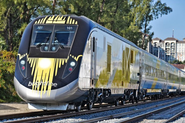 how to get from miami to orlando by train