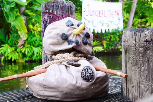 Disney's Jungle Cruise has transformed into Jingle Cruise Photo by Krystal Leal