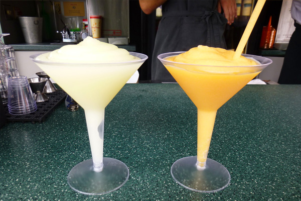 These Parisian takes on fruity slushes are made with high-end alcohols at Epcot