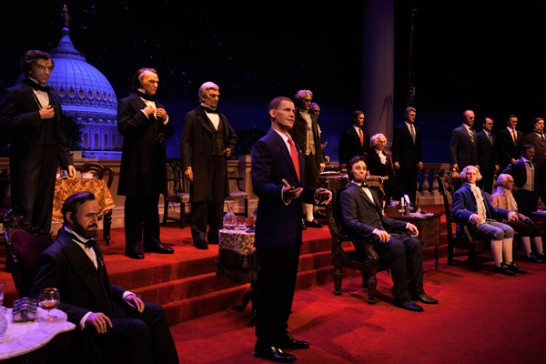 President Elect Donald Trump will join the Hall of Presidents at Magic Kingdom