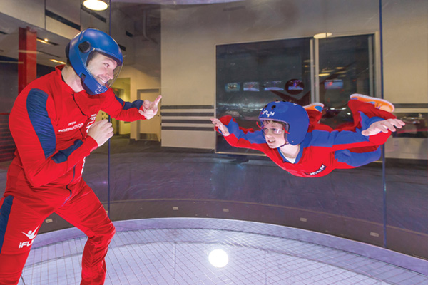 Learn how to fly at iFly in Orlando