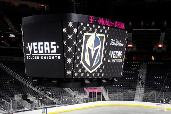 Las Vegas Welcomes Official Hockey Team Vegas Golden Knights