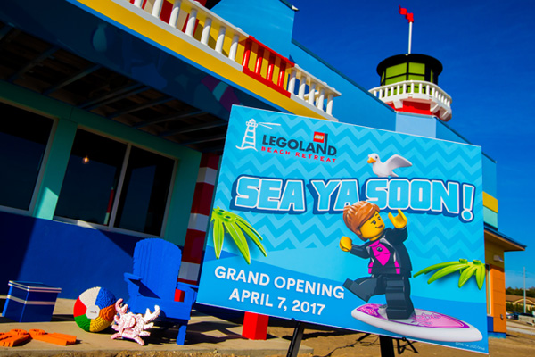 LEGOLAND Florida will officially open its new Beach Retreat on April 17