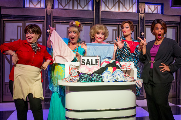 The cast of Menopause the Musical in Las Vegas