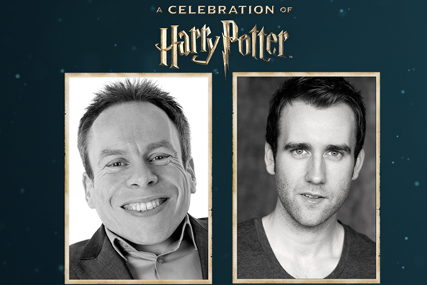 Warwick David and Mathew Lewis will attend A Celebration of Harry Potter
