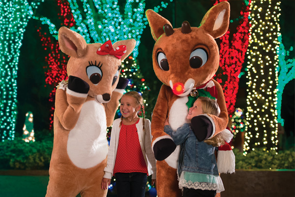 Meet Rudolph and his friends at Busch Gardens' Christmas Town