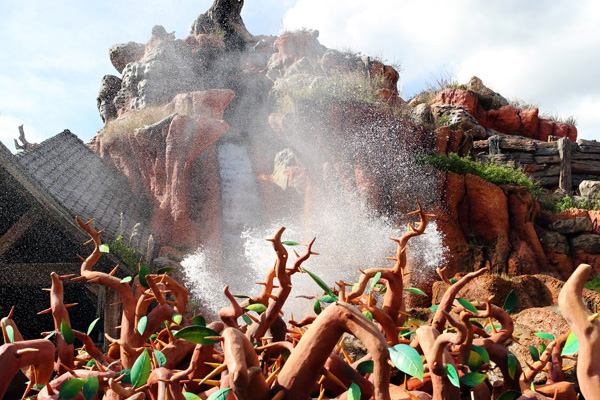 Splash Mountain will be closed for refurbishments through mid-November