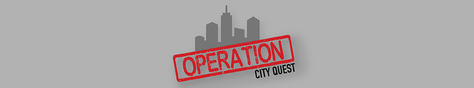Operation City Quest: Scavenger Hunt Game Header Image
