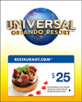 Universal Orlando Resort™ 1-Day Combo w/ $25 Restaurant.com Gift Card