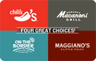 Brinker 4-Choice E-Gift Cards