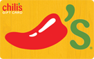Chilis Grill & Bar® E-Gift Cards