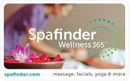 Spafinder Wellness 365 E-Gift Cards