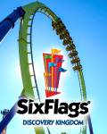 Six Flags Discovery Kingdom - San Francisco, CA