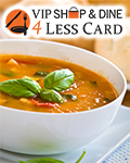 VIP Shop & Dine 4Less eCard Orlando