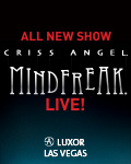 Criss Angel MINDFREAK® LIVE!