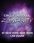 Zumanity™ The Sensual Side of Cirque du Soleil®